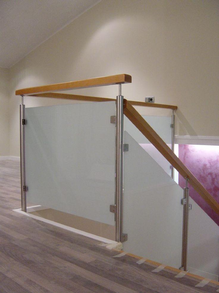 M s de 25 ideas incre bles sobre barandas de cristal en - Barandillas escaleras modernas ...