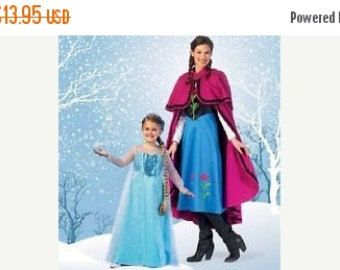 Check out Gorgeous  Girls Frozen Dress Patterns--from Movie Frozen--Miulti Sizes--Hard Find---So Cute--40-70% off Patterns n Books SALE on altcollect