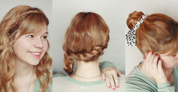 3 quick and easy braided hairstyles ‹ One O Textile
