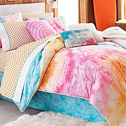 """MY actual dorm bedding""-Katelyn Byng <3Malibu Surfers, Teen Vogue,  Comforters, Beach Bedrooms, Comforter Sets, Ties Dyes,  Puff, Comforters Sets, Teen Room"