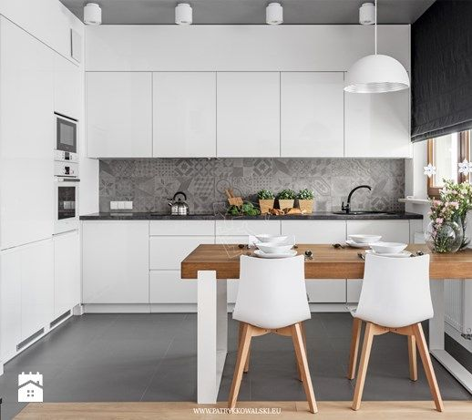 Al. Rzeczpospolitej - Kuchnia, styl nowoczesny - zdjęcie od Patryk Kowalski Architektura i projektowanie wnętrz