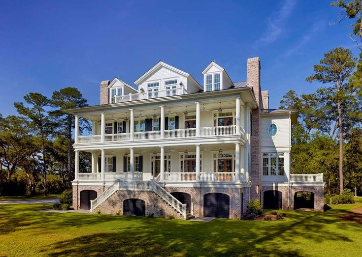 Traditional Lowcountry Home Designed By Christopher Rose