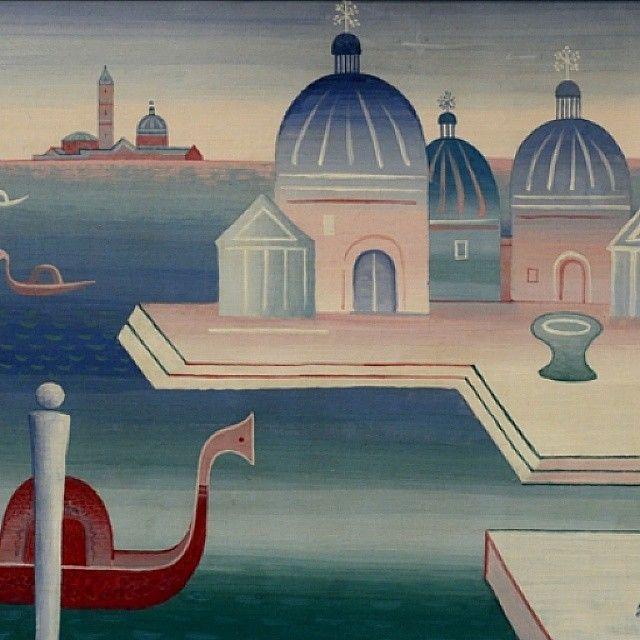 Benátky (1928) - Jan Zrzavý, Galerie Marold