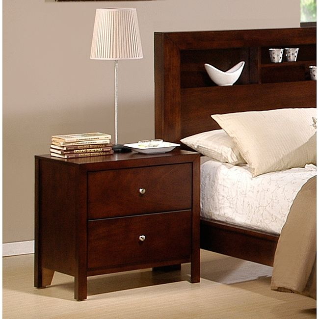 sonata nightstand overstock dimensions inches high x inches wide x inches deep