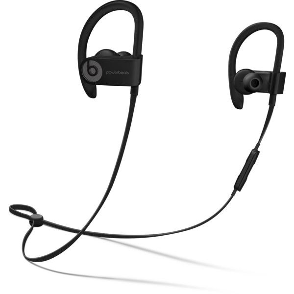Beats Powerbeats3 Wireless Earphones - Beats by Dre ($200) ❤ liked on Polyvore featuring accessories, tech accessories, beats by dr dre earbuds, beats by dr. dre and earphones earbuds