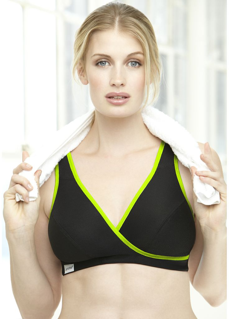 Glamorise Actve Comfort Wrap Bra Style 1866. The perfect Yoga or Pilate's bra for the full figure woman. Our low impact active comfort wrap bra is ideal in and out of the studio. Reinforced bottom cups shape and support while the stretch upper cups adjust for a perfect fit. Cushioned shoulder straps with back adjustments. Move any way and the two-way stretch back moves with you. Moisture wicking fabrics to keep cool and dry.  http://glamorisesport.com/active-comfort-wrap-bra-info
