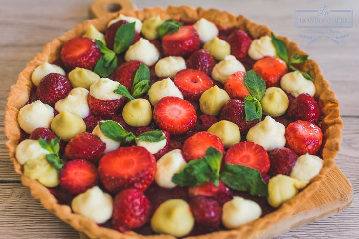 Strawberry and Mint TART