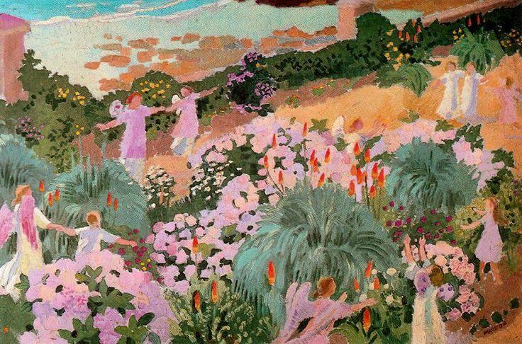 Paradise, 1912 Maurice Denis - by style - Symbolism