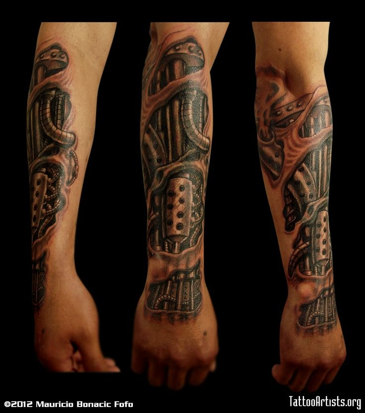Tattoo Ideas En El Brazo: 17 Best Images About BIO MECHANICAL TATTOOS On Pinterest