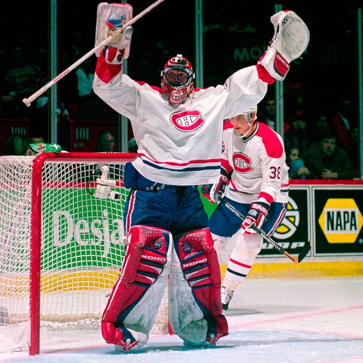December 2, 1995: Patrick Roy's last game in Montreal. Roy allowed 9 goals on 26 shots and the crowd jeered him whenever he made an easy save during the second period after the game was already 7-1 in favor of the Red Wings. In response, Roy raised his arms in mock celebration.