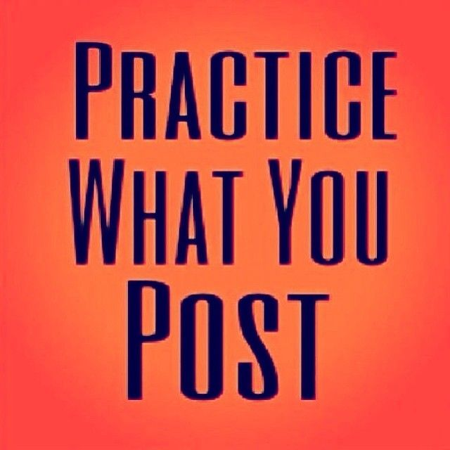 Practice what you post. Practice what you preach. What's the point of misguiding others who have hope and a chance at following God, when your example isn't helping them get there? That way of life is not pleasing to The Lord because it turns His children further away from Him and to the world. Yes, everyone has free will and should control their decisions, but the reality is..life in Christ is not an easy road to take, let alone maintain. So if you're a follower of Christ, be a leader.