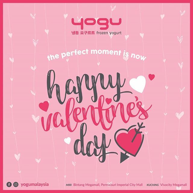 Happy Valentines Day to everyone of you out there 😘😘💕 #yogumalaysia