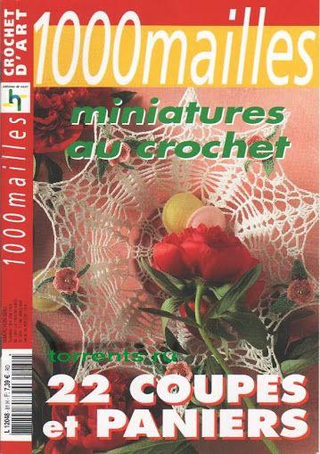 1000 Mailles Nomero special hors-serie Coupes et paniers au crochet