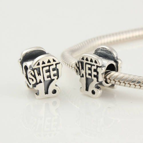 Sweet Home 925 Sterling Silver Charms Pandora European Bracelets Compatible esJdrV