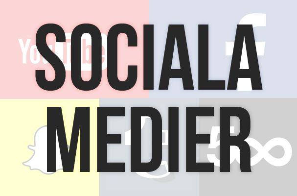 Sociala medier för bloggare
