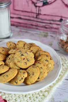Csokoládés-mogyorós-mandulás keksz