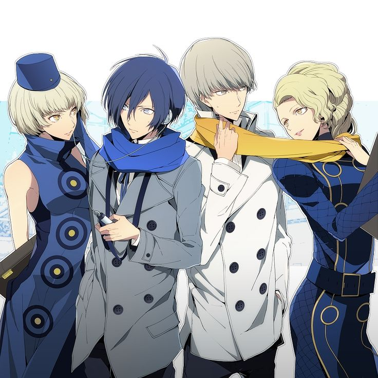 nic (KEVIN), Shin Megami Tensei: PERSONA 3, Shin Megami Tensei: PERSONA 4, Narukami Yu, Margaret (PERSONA 4), Elizabeth (PERSONA 3)