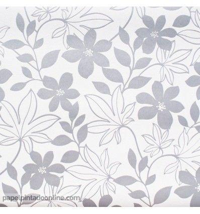 Las 25 mejores ideas sobre papel pintado flores en for Papeles pintados ingleses
