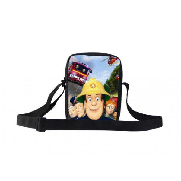 Brandmand Sam taske til børn i god kvalitet og med plads til ting når man skal på tur