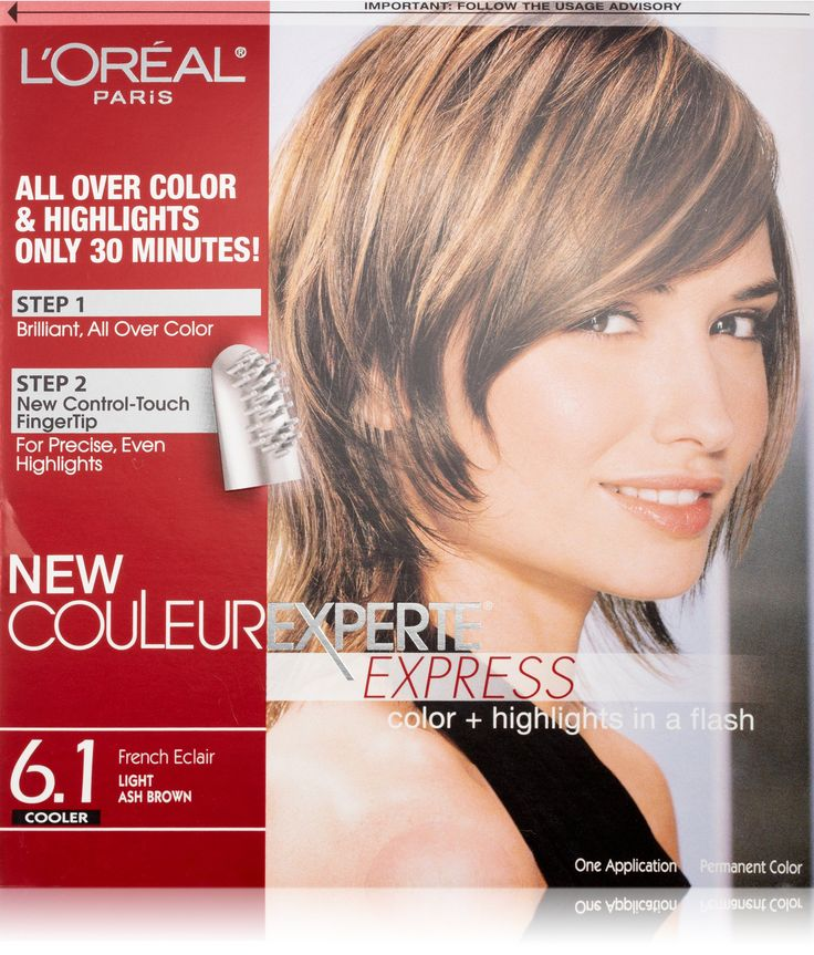 Couleur Experte Light Ash Brown , French Eclair Brown
