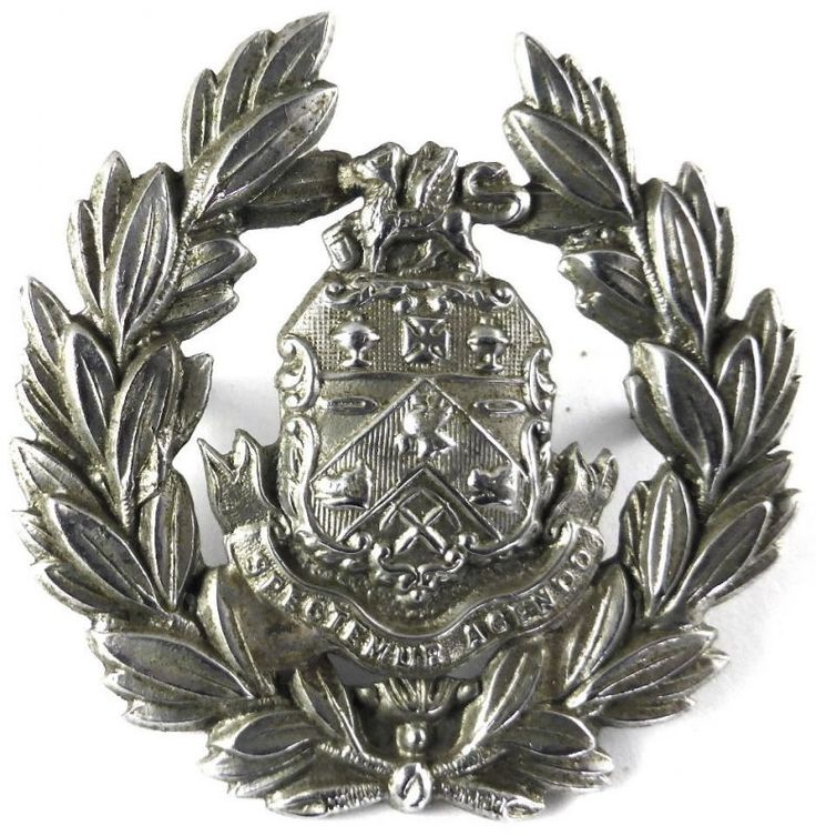 Barnsley Borough Police Cap Badge  WM Cap Badge worn pre 1930's