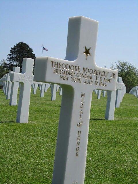 American cemetary above Omaha Beach, Normandy France