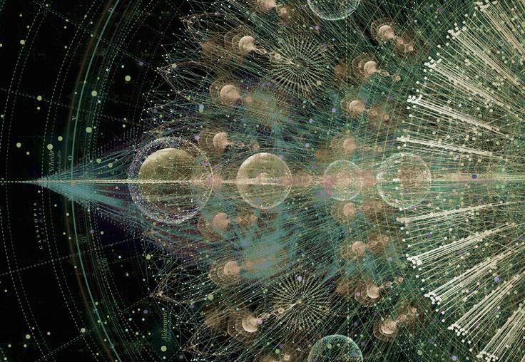 data visualization art from Tatiana Plakhova.