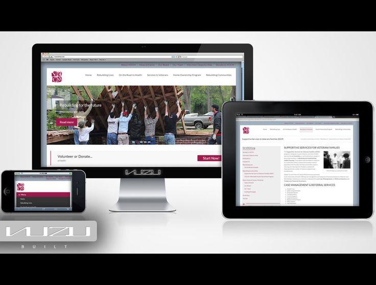 Voice of Calvary Ministries - Christan non-profit website design.