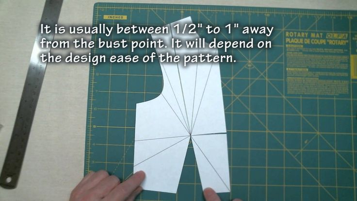 Explanation of Darts and How to Sew Them
