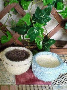 コーヒーカップの作り方|編み物|編み物・手芸・ソーイング|アトリエ
