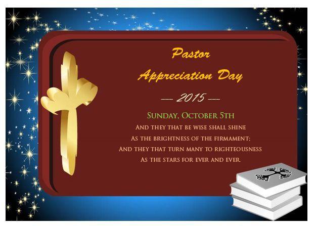 21 Best Pastor Appreciation Certificate Templates Images