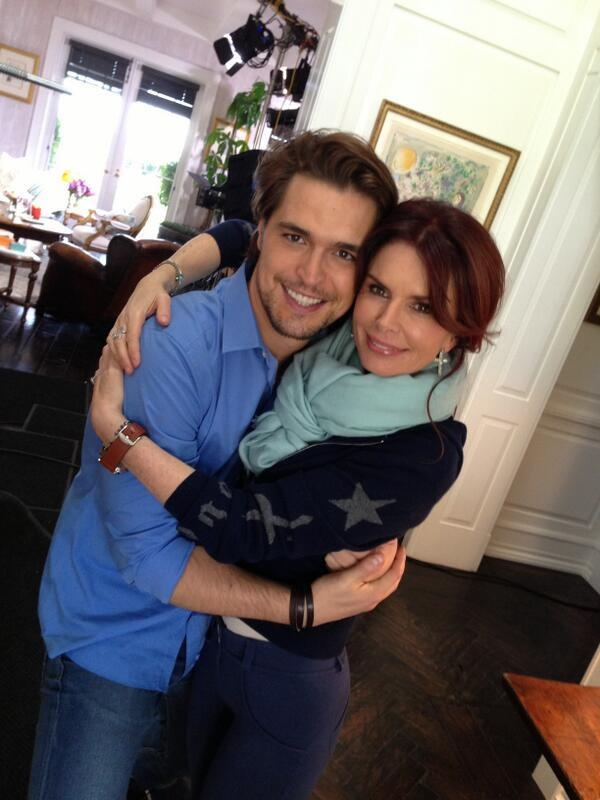 this picture... gaahhhh Diogo Morgado and Roma Downey
