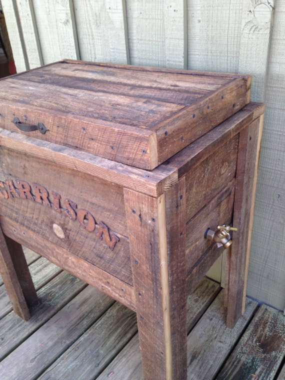Wooden Ice Chest ~ Wood ice chest plans woodworking projects