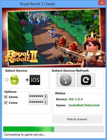 Royal Revolt 2 Hack