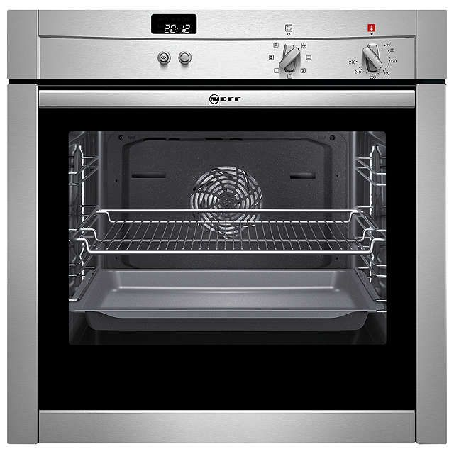 BuyNeff B44M42N3GB Slide and Hide Single Electric Oven, Stainless Steel Online at johnlewis.com