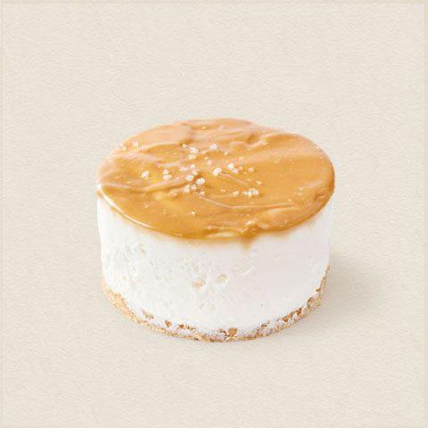Cheesecake de caramelo salgado