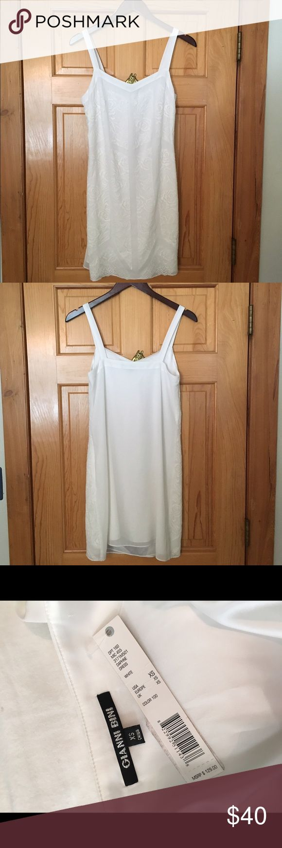 Gianni Bini Daphne Dress Gianni Bini White Daphne Dress in a size XS. Brand new, never worn, with tags! Gianni Bini Dresses Mini
