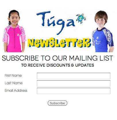Click the image and sign up for our #TUGA Newsletter to receive special #discounts and updates. http://tugasunwear.com/newsletter/