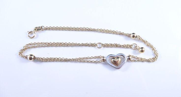 $175 Leg 14K Gold Bracelet, info@bijuterie-online.ro.