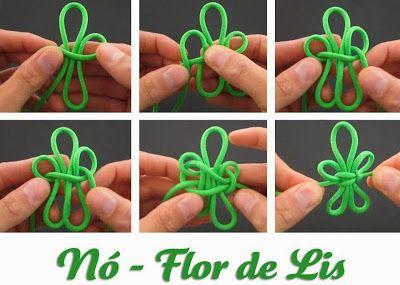 322º Grupo Escoteiro Olavo Bilac: Nó - Flor de Lis