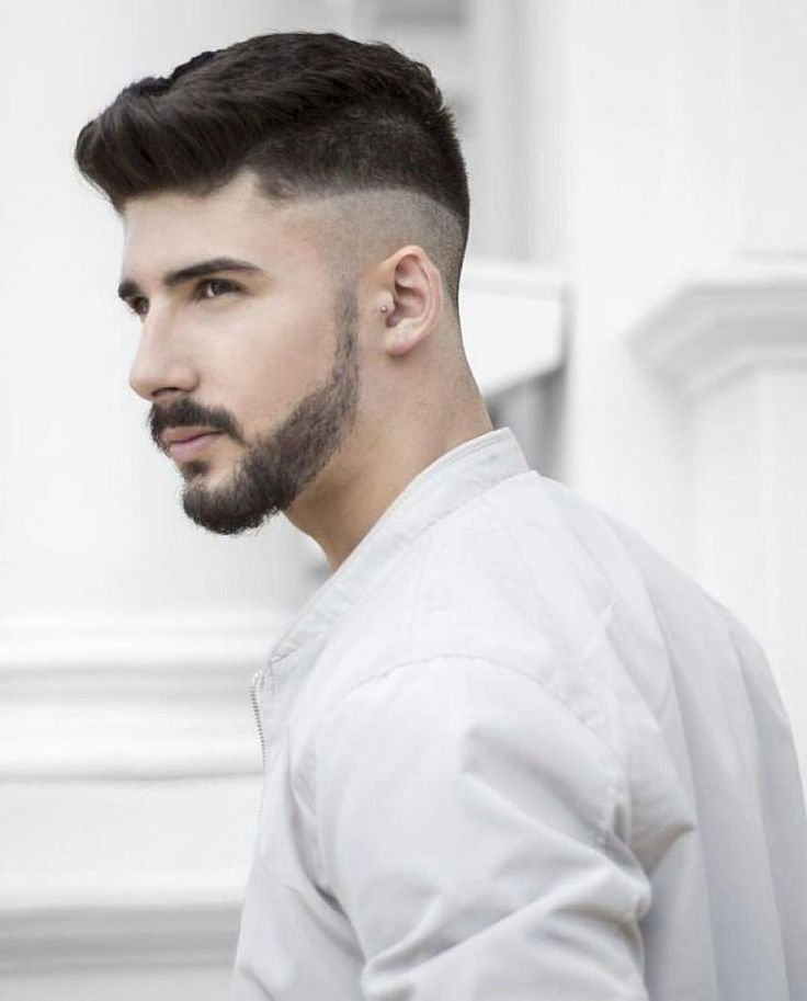 New men hairstyles with beard