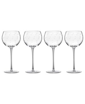 Larabee Dot Balloon wine glasses.Wine Glass