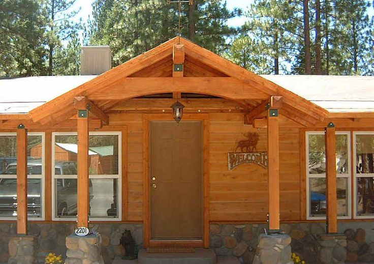 how to make a manufactured home like a house | ... house. This home-owner did the Manufactured structure + TRIMBER-Frame