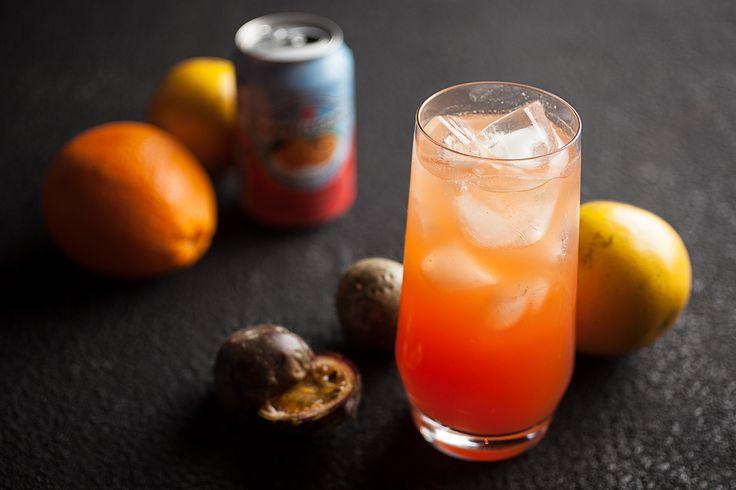 Liqueur d'oranges et fruits de la passion Par Louis-François Marcotte