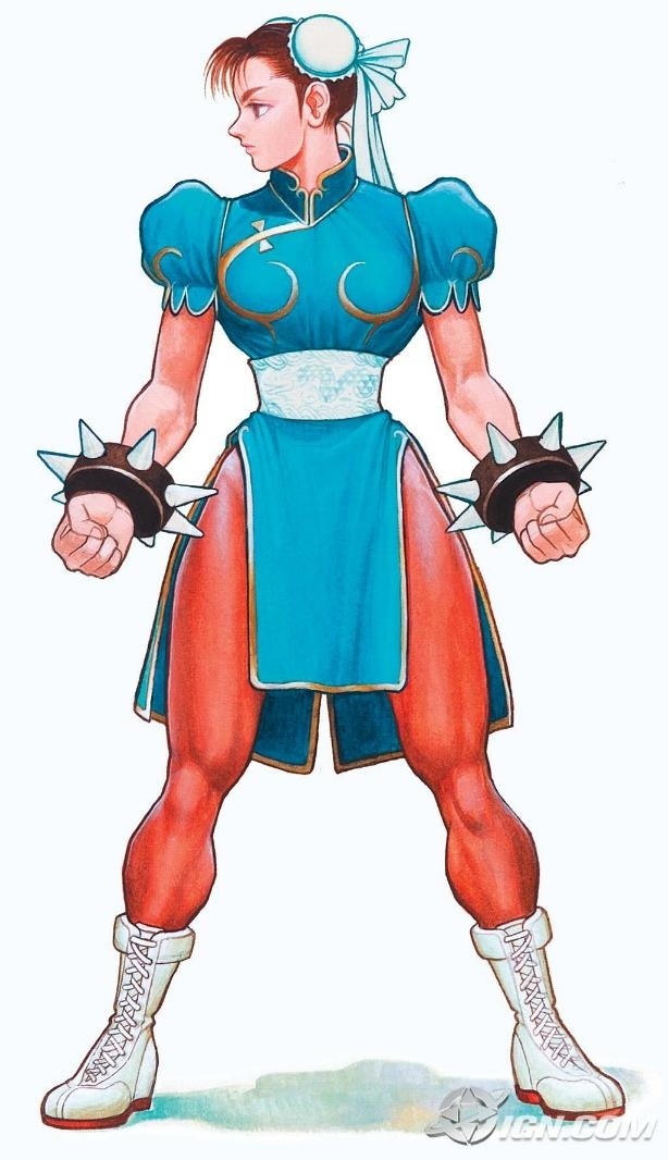 Old school Chun Li by ~ lesaga
