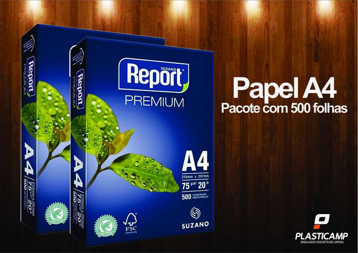 Papel A4 pacote com 500 folhas. Venha para Plasticamp conhecer nossa linha de produtos. Av. Marechal Carmona,395 Vila João Jorge Campinas-SP  Fones para contato: Loja (19)-2511-6037  Televendas (19)3237-1444.