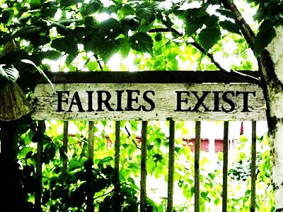 Fairies exist...I do believe in Fairies, I do believe in Fairies!