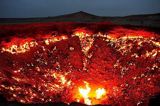 Turkmenistan Poort naar de hel