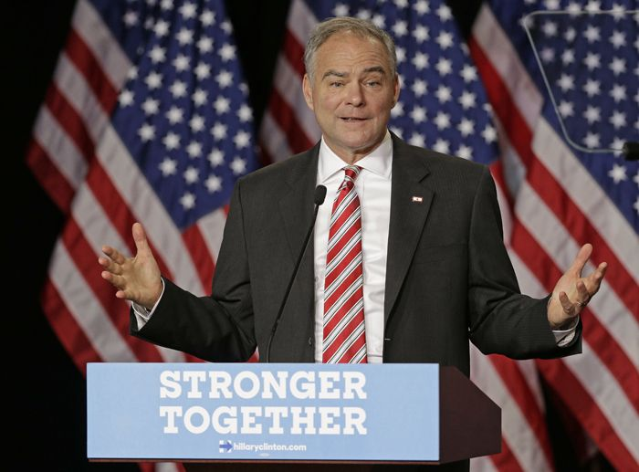 Despite Ted Strickland remark, Tim Kaine says Hillary Clinton will soon be back on campaign trail | The Columbus Dispatch