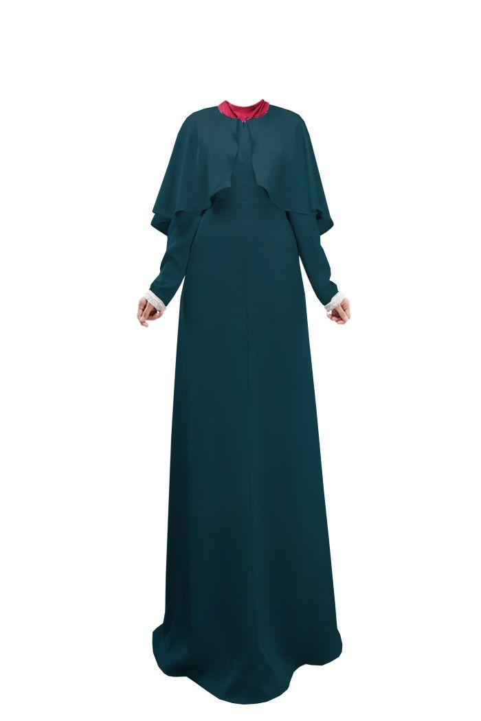 Muslim Abaya Dress For Women Fashion Cloak Maxi Dress Islamic Women Clothes Muslim Abaya Hijab Long Dresses WL3080